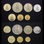 Vanuatu set 7 ks mincí (1990-2009) UNC