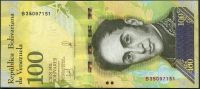 Venezuela (P 100c) - 100 000 bolivares (13.12.2017) - UNC
