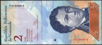 Venezuela (P 88 e) - 2 bolivares (27.12.2012) - UNC