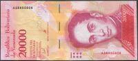 Venezuela (P 99b) - 20 000 bolivares (13.12.2017) - UNC