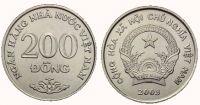 Vietnam (KM 71)  200 Dong (2003) UNC