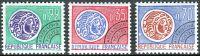 (1969) MiNr. 1656 - 1658 ** - Frankreich - Freimarken mit Vorausentwertung: Keltische Münze