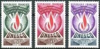 (1969) MiNr. 9 - 11 ** - Francie - Činitelé UNESCO - Všeobecná deklarace lidských práv