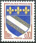 (1970) MiNr. 1420 y ** - Francie - Městský erb - Troyes