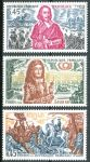(1970) MiNr. 1726 - 1728 ** - Francie - Velké jména z francouzské historie (V)