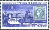 (1970) MiNr. 1730 ** - Francie - 100. výročí prvního vydání známky Bordeaux
