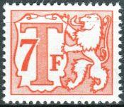 (1970) MiNr. 62 ** - Belgie - Portomarken - Lev a T
