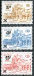 (1970) MiNr. 64 - 66 ** - Belgie - Postpaketmarken - Nádraží