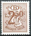 """(1970) MiNr. 65 ** - Belgie - Služební známky - Heraldický lev, """"B"""" v oválu"""