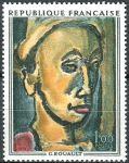 (1971) MiNr. 1754 ** - Frankreich - Kunst