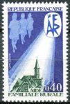 (1971) MiNr. 1755 ** - Frankreich - Landfamilienhilfe