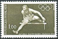 (1972) MiNr. 1802 ** - Francie - Letní olympijské hry, Mnichov