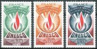(1975) MiNr. 13 - 15 ** - Francie - Činitelé UNESCO - Všeobecná deklarace lidských práv