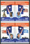 (1984) MiNr. 27 - 30 ** - Marshallovy ostrovy - 4-bl - 5 let ústavy