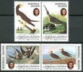 (1985) MiNr. 31 - 34 ** - Marshallovy ostrovy - 2-bl - 200. výročí narození Johna Audubona