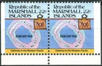 (1985) MiNr. 41 D ** - Marshallovy ostrovy - SP - Ostrovní mapy