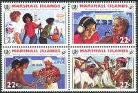 (1985) MiNr. 54 - 57 ** - Marshallovy ostrovy - 4-bl - Mezinárodní rok mládeže