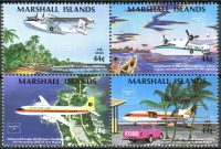 (1986) MiNr. 77 - 80 ** - Marshallovy ostrovy - 4-bl - Mezinárodní filatelistická výstava AMERIPEX