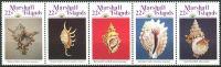 (1986) MiNr. 87 - 91 ** - Marshallovy ostrovy - 5-pá - mořští plži