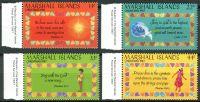 (1987) MiNr. 142 - 145 ** - Marshallovy ostrovy - Vánoce
