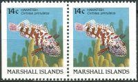 (1988) MiNr. 152 D ** - Marshallovy ostrovy - 2-bl - Ryby