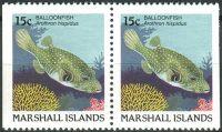 (1988) MiNr. 172 D ** - Marshallovy ostrovy - 2-bl - Ryby