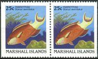 (1988) MiNr. 173 D ** - Marshallovy ostrovy - 2-bl - Ryby