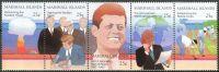 (1988) MiNr. 194 - 198 ** - Marshallovy ostrovy - 5-pá - 25. výročí úmrtí prezidenta Johna F. Kenned