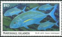 (1989) MiNr. 208 ** - Marshallovy ostrovy - Ryba