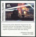 (1989) MiNr. 245 ** - Marshallovy ostrovy - Historie druhé světové války (II)