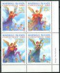 (1989) MiNr. 246 - 249 ** - Marshallovy ostrovy - 4-bl - Vánoce