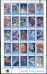 (1989) MiNr. 250 - 274 ** - Marshallovy ostrovy - PL - Důležité momenty průzkumu vesmíru