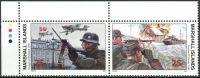 (1990) MiNr. 295 - 296 ** - Marshallovy ostrovy - 2-bl - Historie druhé světové války (V)