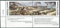 (1990) MiNr. 305 - 306 ** - Marshallovy ostrovy - sp - Historie druhé světové války (IX)
