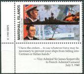 (1990) MiNr. 308 ** - Marshallovy ostrovy - Historie druhé světové války (XI)