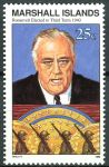 (1990) MiNr. 329 ** - Marshallovy ostrovy - Historie druhé světové války (XVI)
