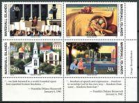 (1991) MiNr. 338 - 341 ** - Marshallovy ostrovy - 4-bl - Historie druhé světové války (XVIII)
