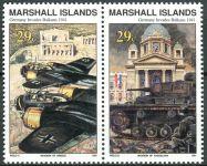 (1991) MiNr. 347 - 348 ** - Marshallovy ostrovy - sp - Historie druhé světové války (XX)