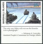 (1991) MiNr. 377 ** - Marshallovy ostrovy - Historie druhé světové války (XXIV)