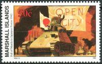 (1992) MiNr. 396 ** - Marshallovy ostrovy - Historie druhé světové války (XXXII)