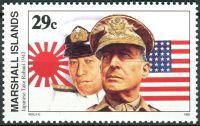 (1992) MiNr. 397 ** - Marshallovy ostrovy - Historie druhé světové války (XXXIII)