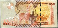 Uganda - (P 49d) 1000 Schillings (2015) - UNC