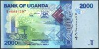 Uganda - (P 50c) 2000 Schillings (2015) - UNC