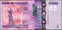 Uganda - (P 52c) 10 000 Schillings (2013) - UNC