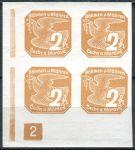 (1939) č. NV 1 ** - B. ü. M. - 4-bl -  Novinové známky