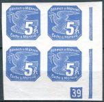 (1939) č. NV 2 ** - B. ü. M. - 4-bl -  Novinové známky - 39