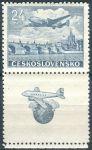 (1946) č. L 16 ** - Československo - KD - Letecké známky - Let Praha - New York