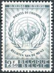 (1958) MiNr. 1142 ** - Belgie - 10. výročí Všeobecné deklarace lidských práv OSN