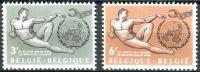 (1962) MiNr. 1291 - 1292 ** - Belgie - lidská práva