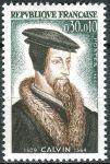 (1964) MiNr. 1475 ** - Francie - 400. výročí úmrtí Jan Kalvín
